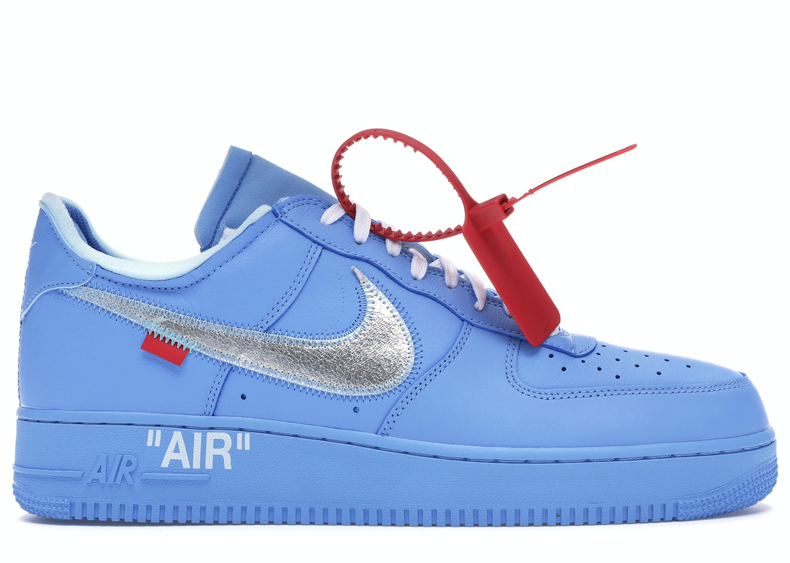 Air Force 1 Low Off,White MCA University Blue