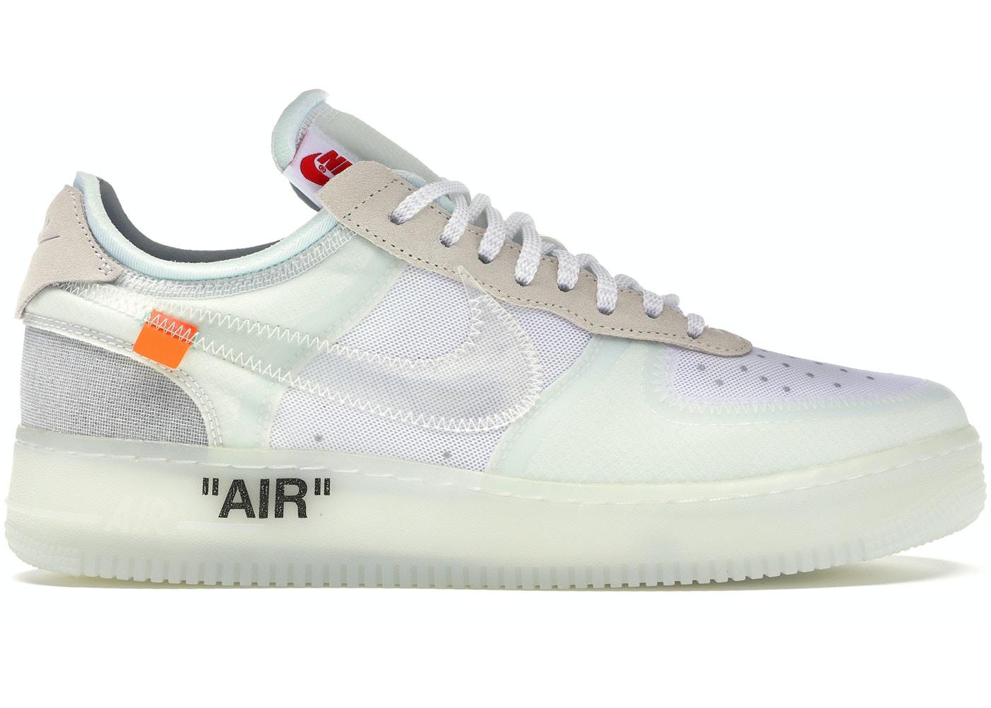 Asombro Inducir Dime  Nike Air Force 1 Low Off-White - AO4606-100