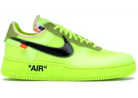Extraer hipótesis resistirse  Nike Air Force 1 Low Off-White Volt - AO4606-700