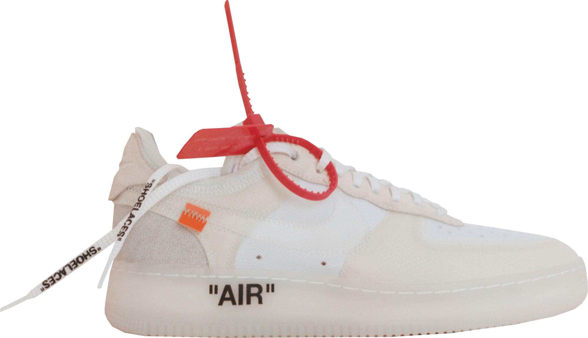 nike air force 1 off white stock x sneakers
