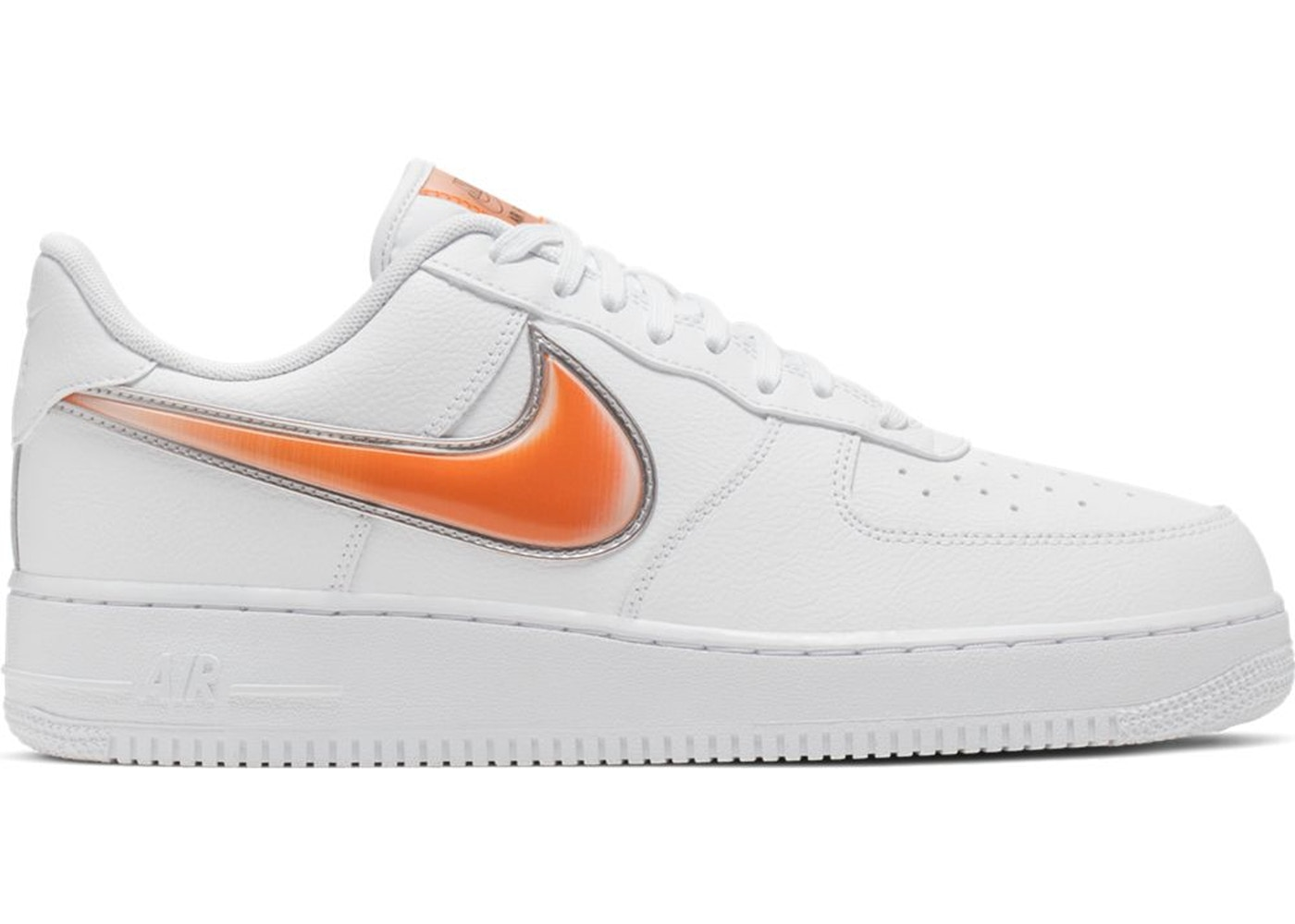 air force 1 blanche et orange
