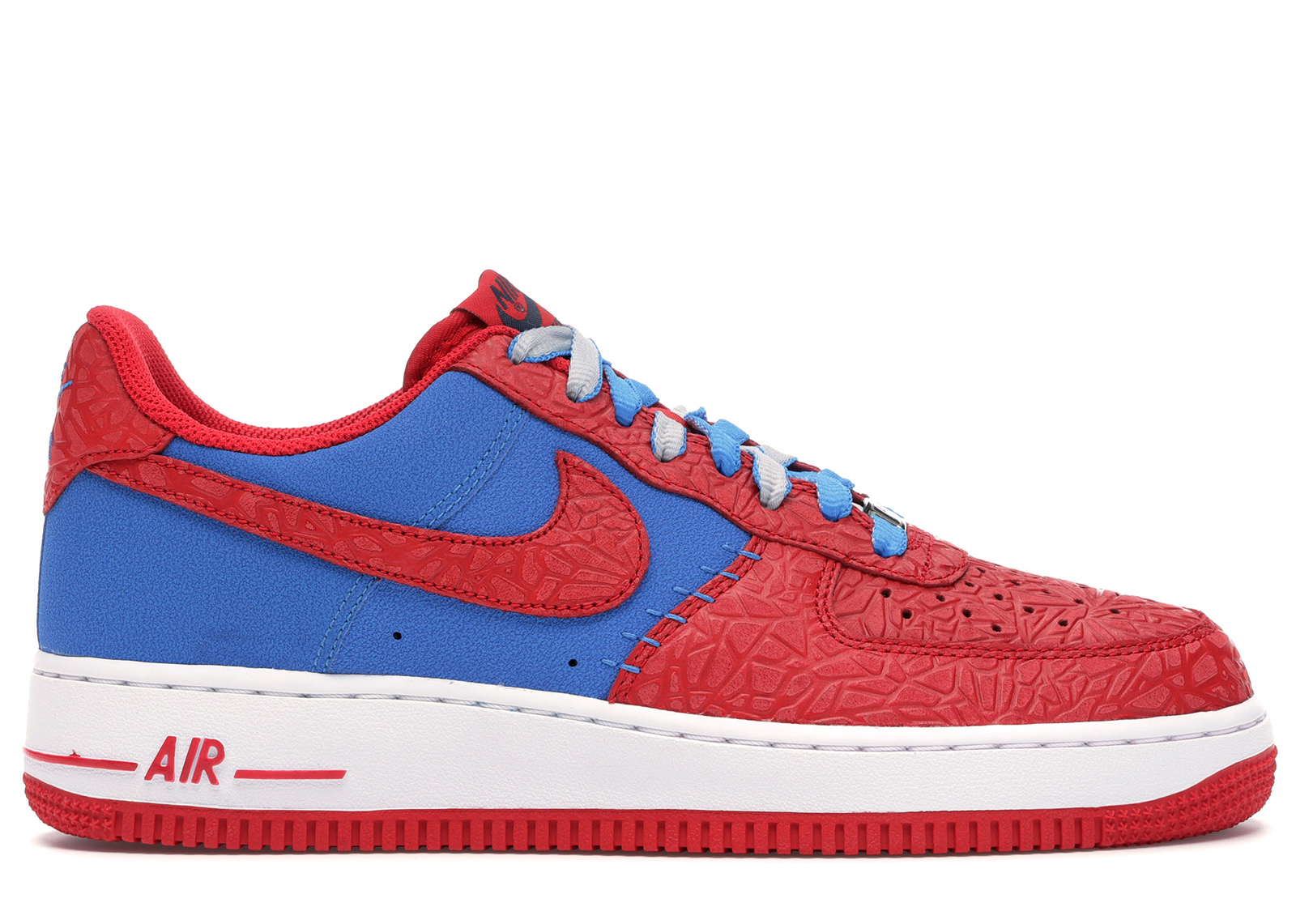 nike air force 1 low white blue red