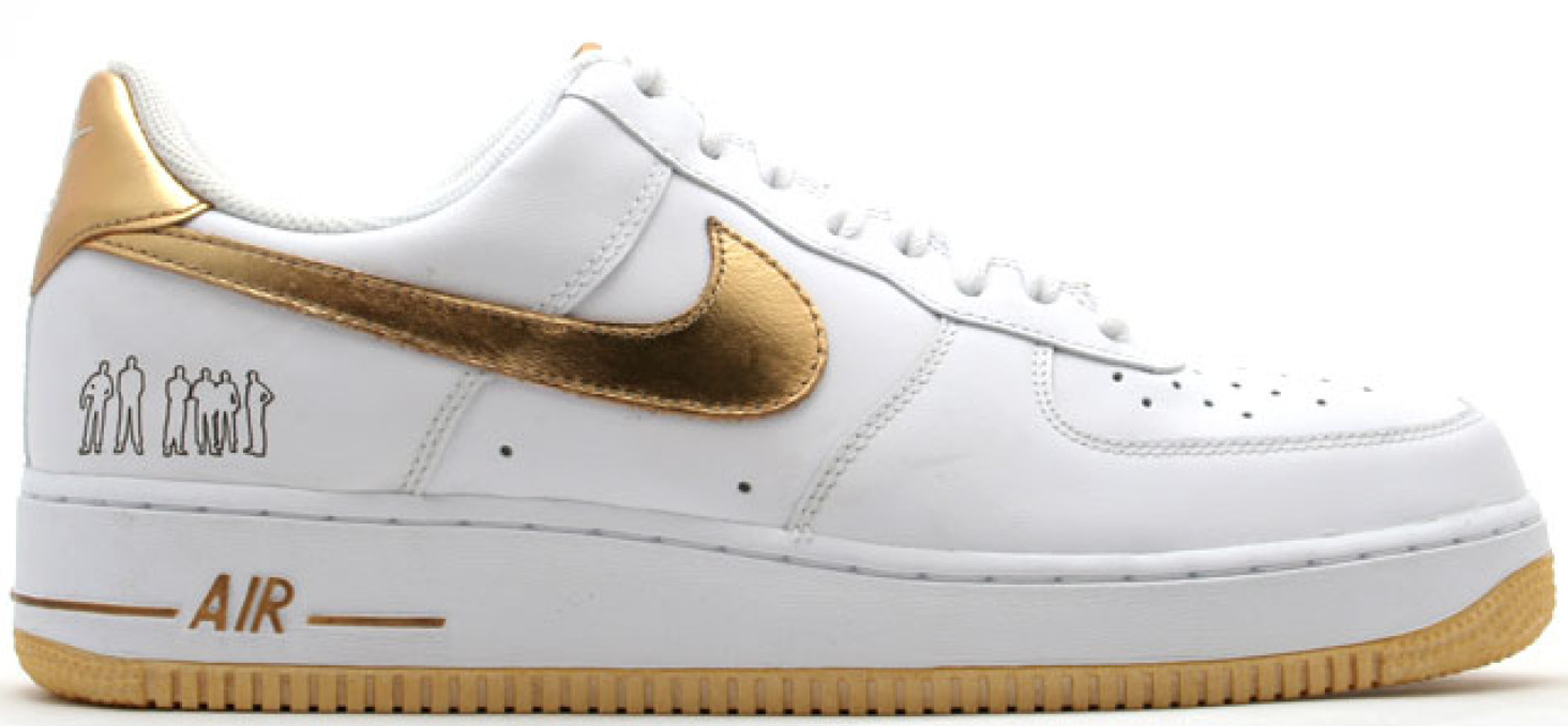 Nike Air Force 1 Low Players White