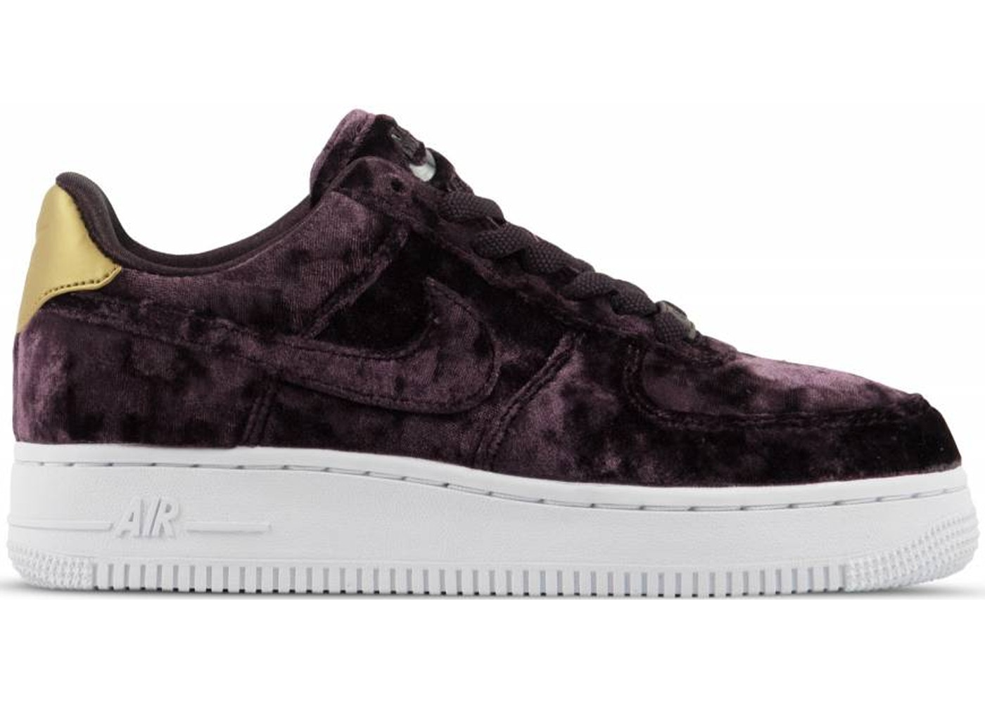 competitive price 0b700 26c88 Air Force 1 Low Port Wine Velvet (W) - 896185-600