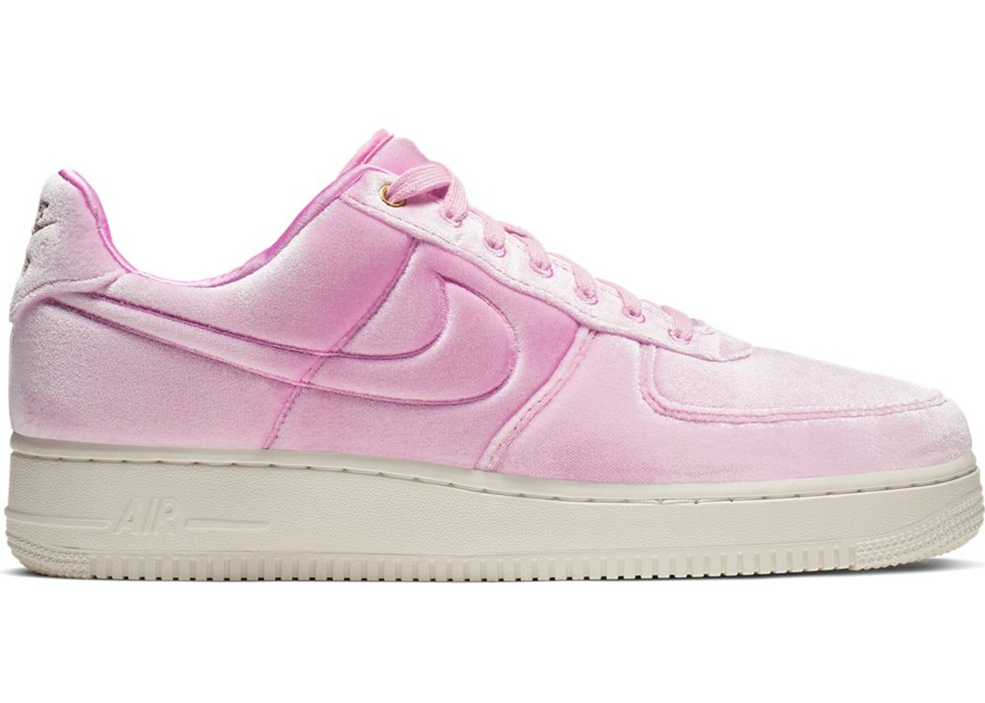 "Nike Air Force 1 Low Premium ""Velour"" Pink For Sale"