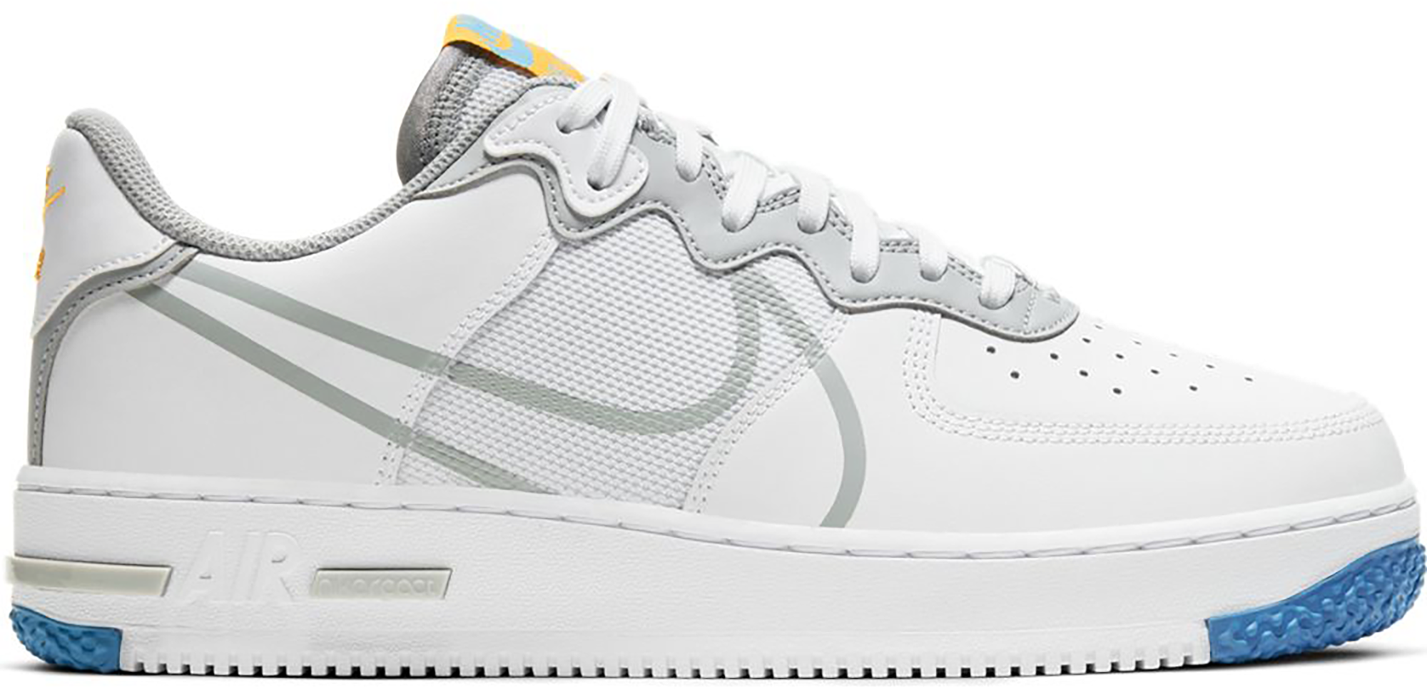 Nike Air Force 1 Low React White Light