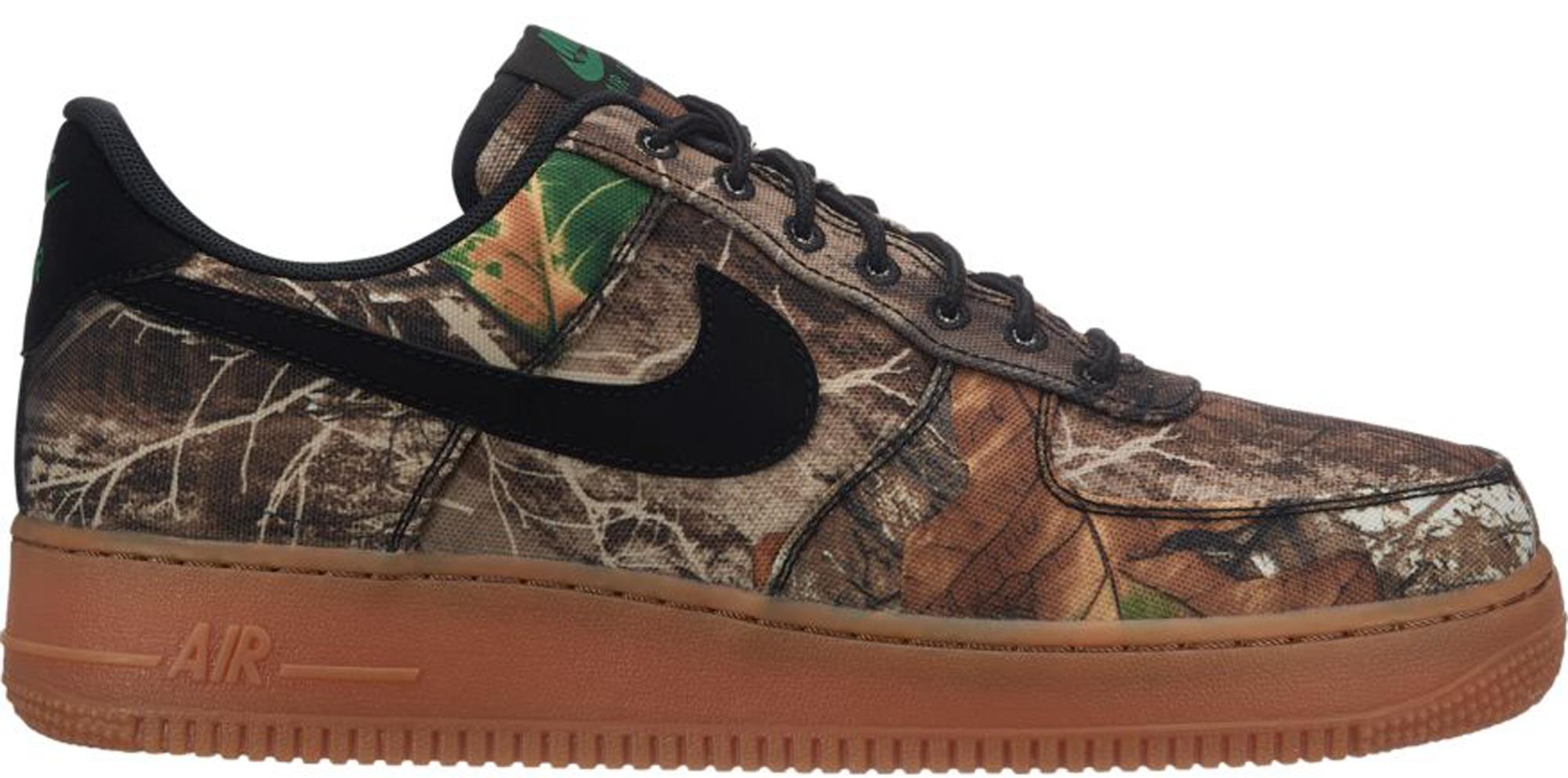 Nike Air Force 1 Low Realtree Black