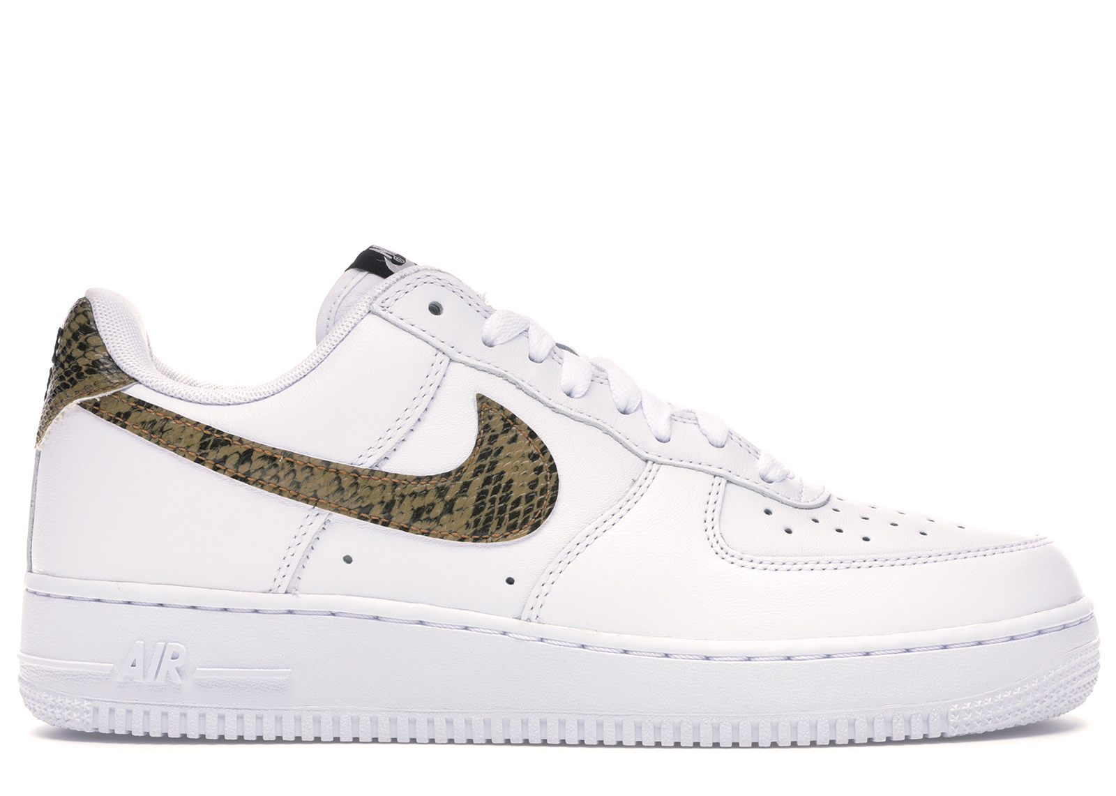 Nike NIKE sneakers air force 1 Lo BlackShiny SilverGreen Glow limited men's (men's) (nike AIR FORCE 1 LOW ICONS Sneaker sneaker SNEAKER MENS shoes