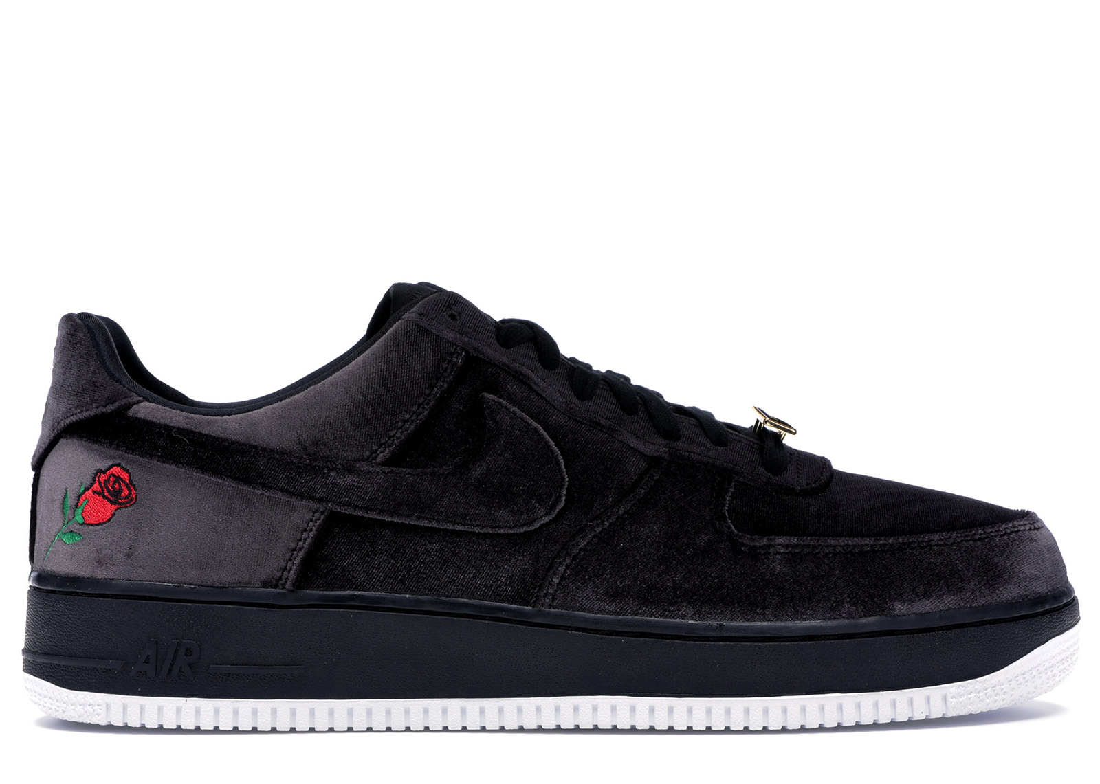 Buy Nike Air Force 1 Low Velvet Rose Satin Black White Online