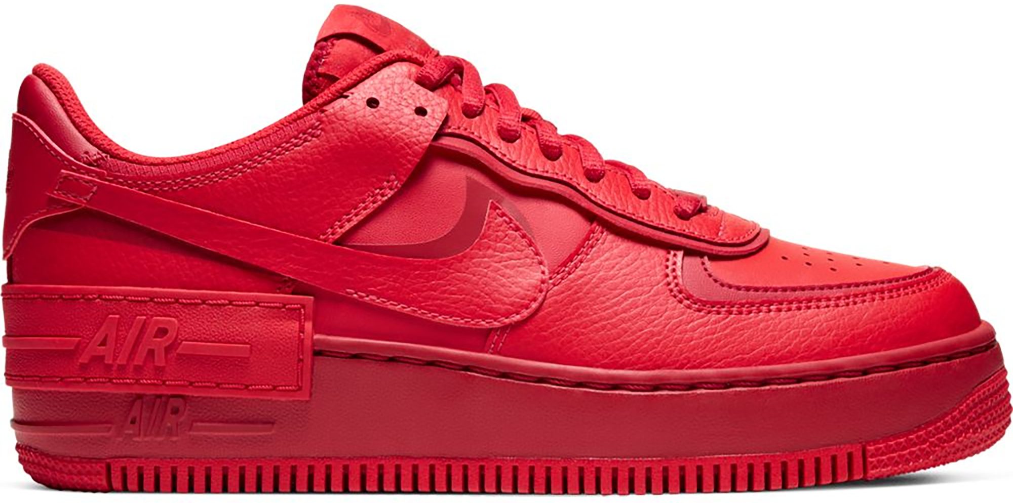 Nike Air Force 1 Low Shadow Triple Red