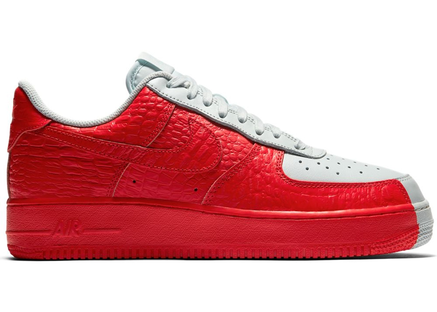 size 40 2ad57 5d4c3 Air Force 1 Low Split Grey Red - 905345-005