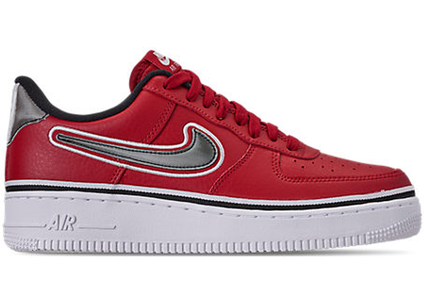 best service 27987 a732e Air Force 1 Low Sport NBA Varsity Red