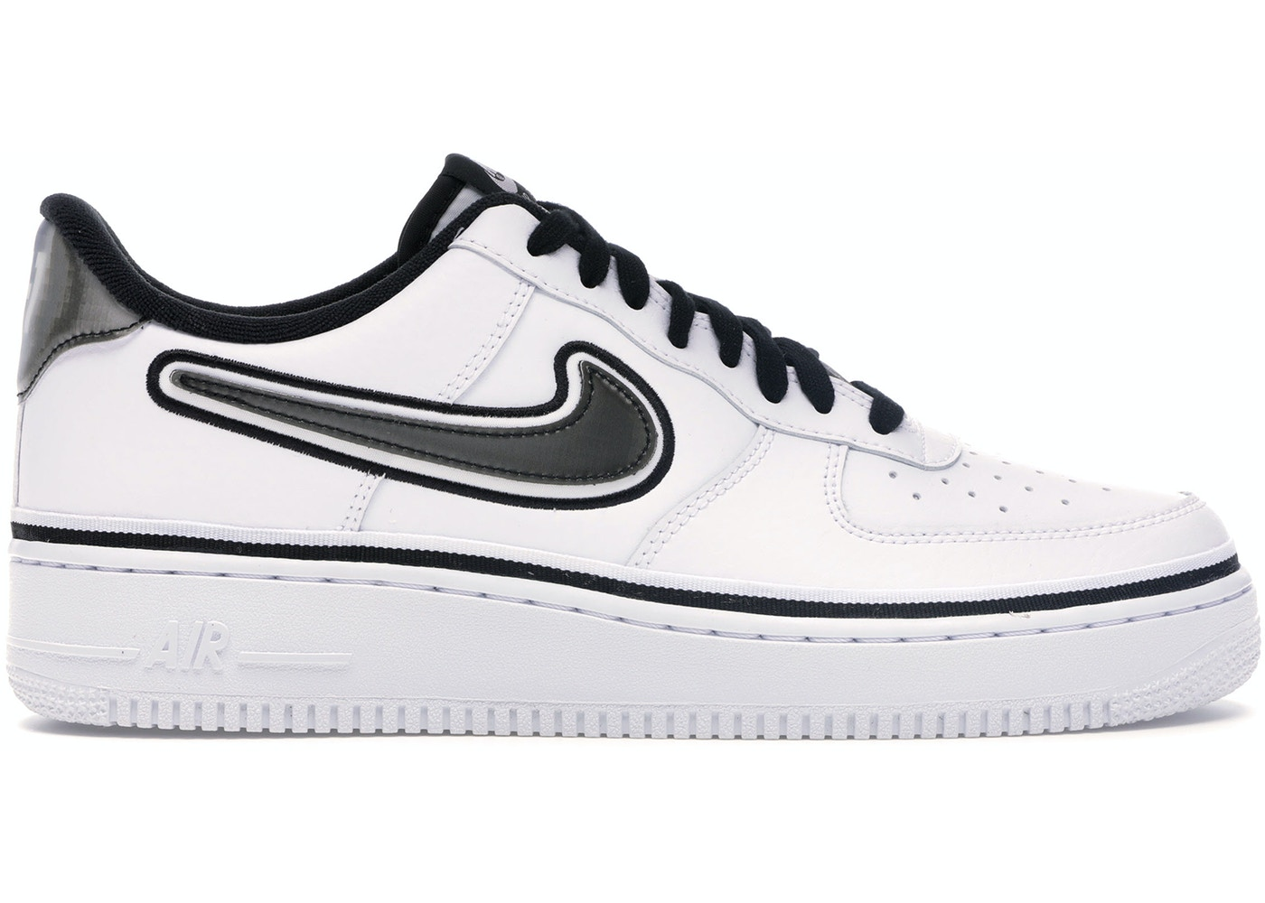 sale new authentic new arrive Air Force 1 Low Sport NBA White Black