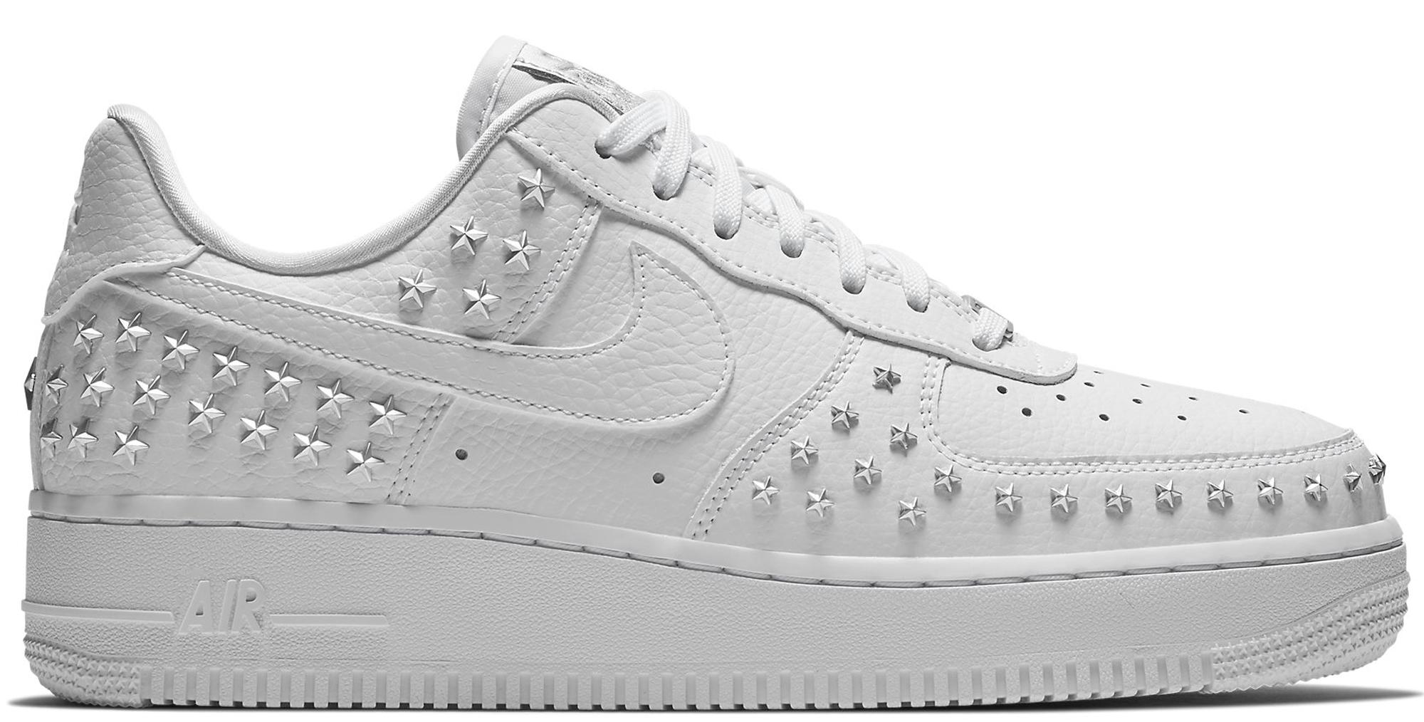 Nike Air Force 1 Low Stars White (W