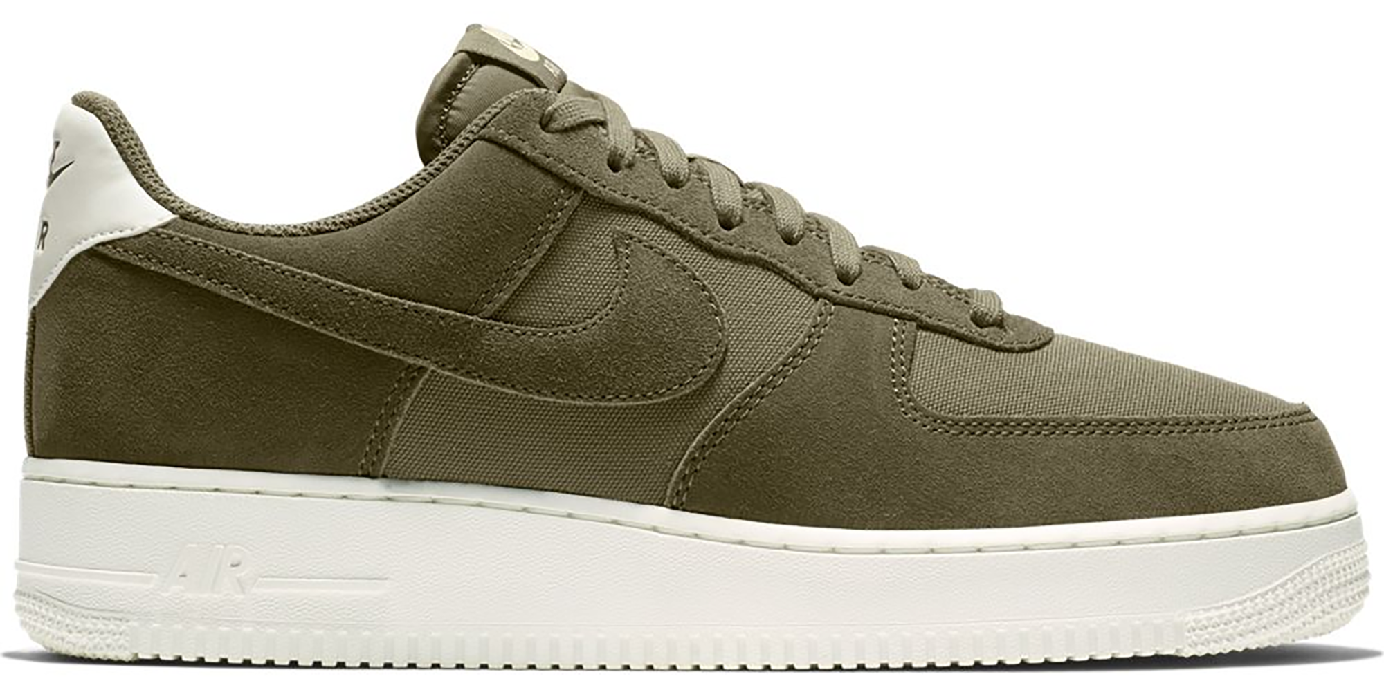 Nike Air Force 1 Low Suede Medium Olive