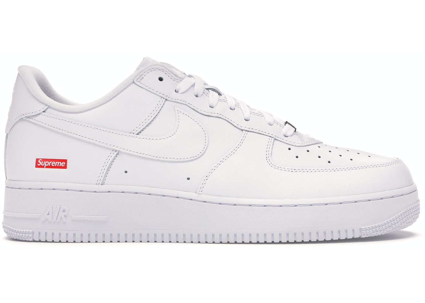 Nike Air Force 1 Low Supreme White Cu9225 100