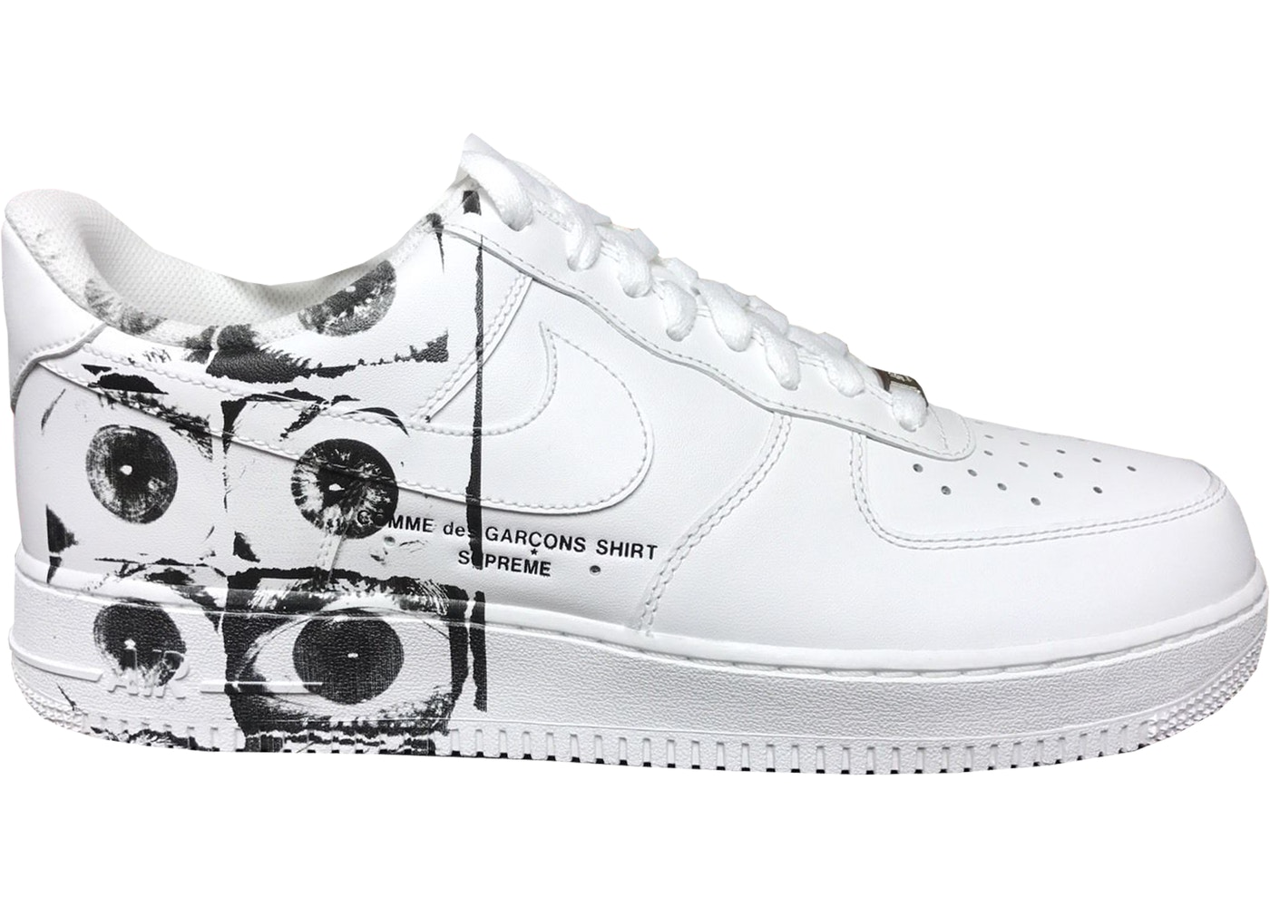 Nike Air Force 1 Low Supreme Comme des Garcons Shirt