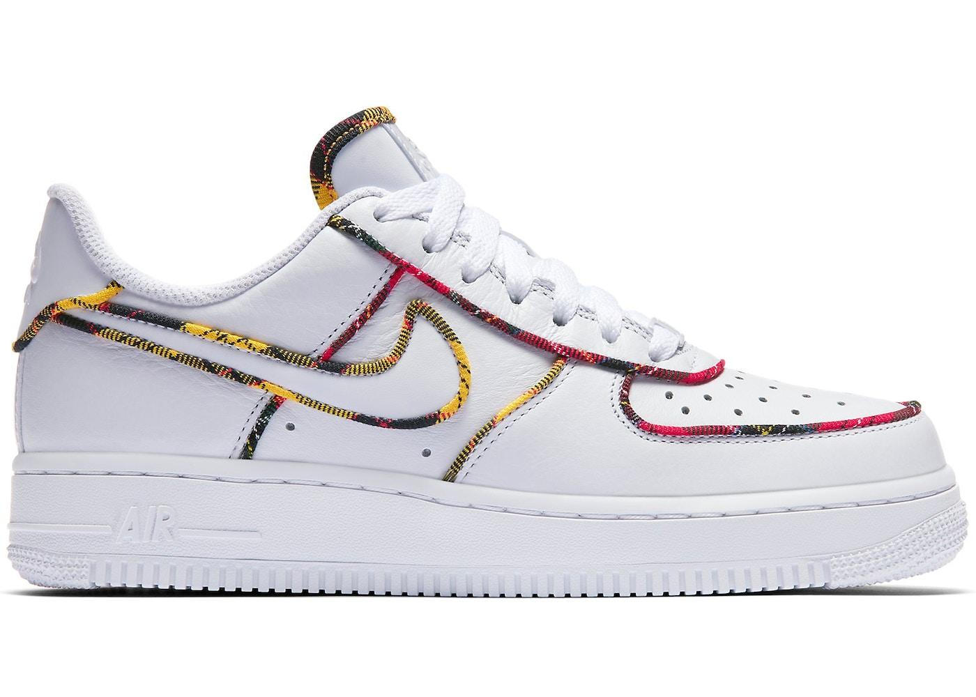Nike Air Force 1 Low Tartan White