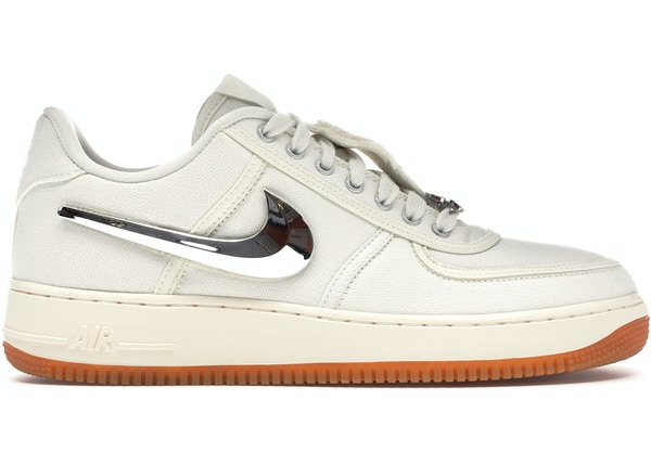 save off e9640 a300b Air Force 1 Low Travis Scott Sail