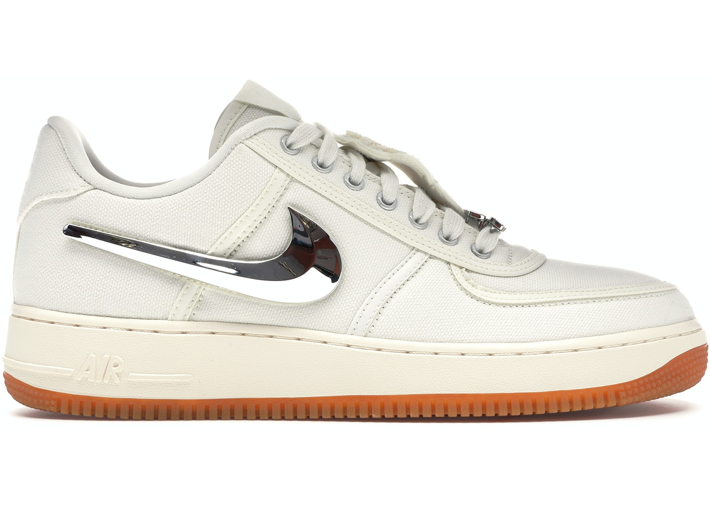 separation shoes dd0fc 80b85 Air Force 1 Low Travis Scott Sail - AQ4211-101
