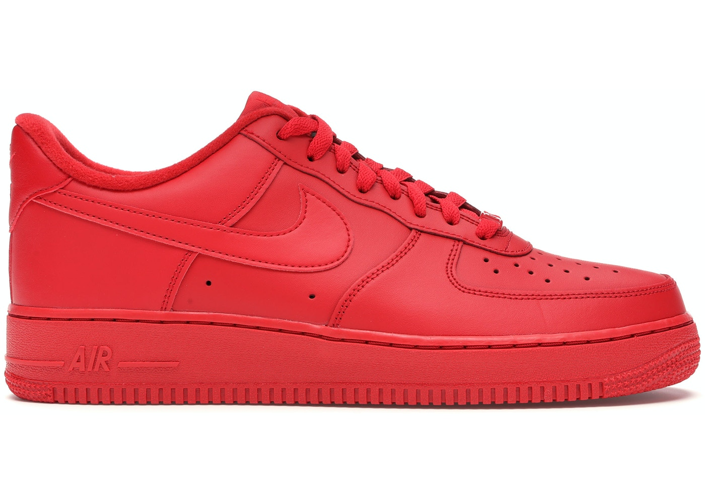 Nike Air Force 1 Low Triple Red Cw6999 600