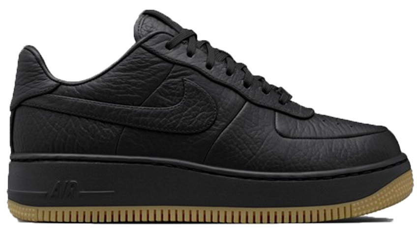 Air Force 1 Low Upstep Pinnacle black Gum Light Brown