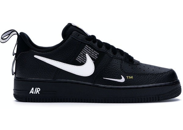 new arrival 6e421 18700 Air Force 1 Low Utility Black White