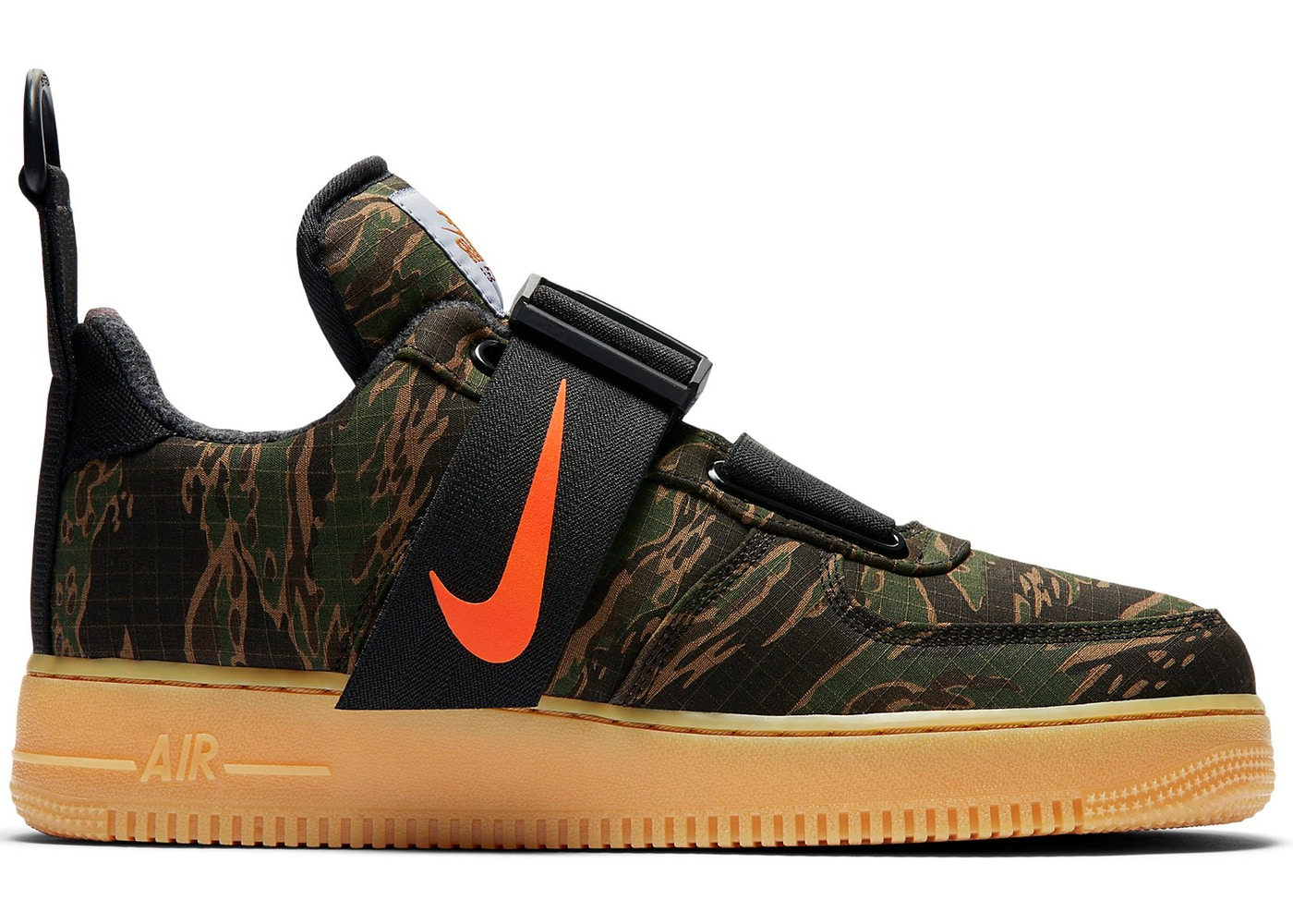 new release huge discount 50% off Nike Air Force 1 Low Utility Carhartt WIP Camo - AV4112-300
