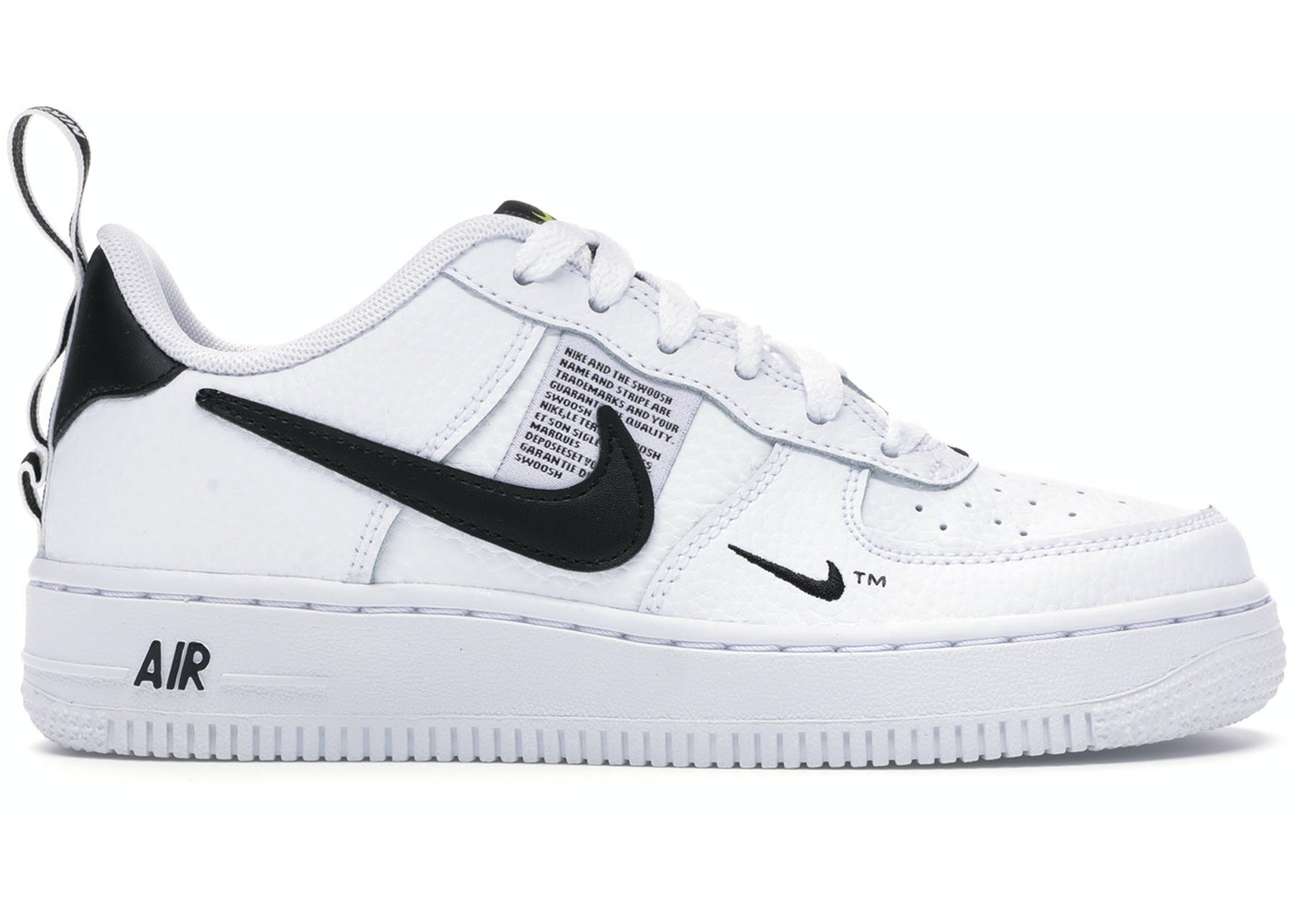 Nike Air Force 1 Low GS Nike Air Force 1 Low Utility White Black (GS) - AR1708-100