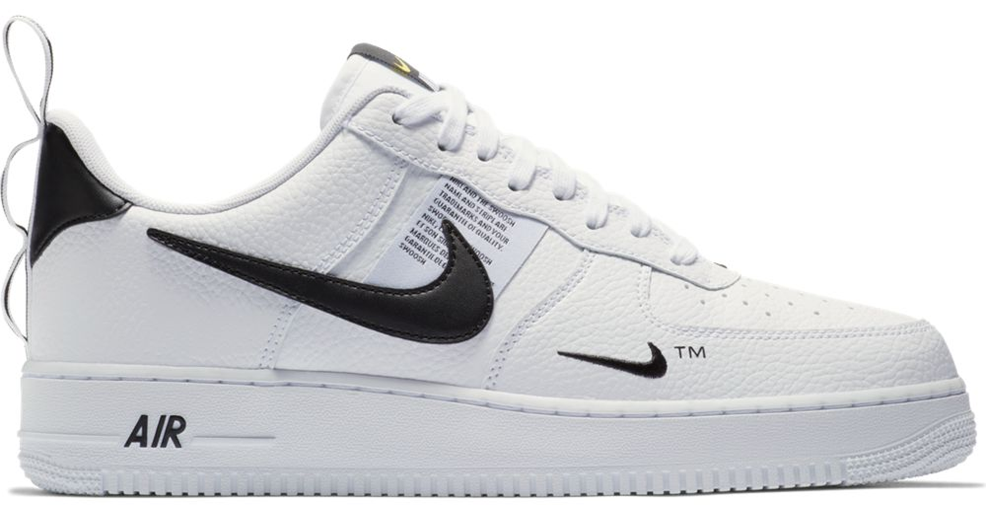 Air Force 1 Low Utility White Black (GS)