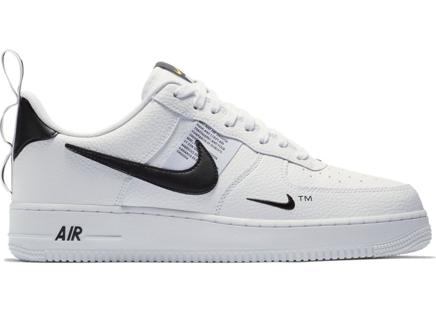 d099ca618532 Air Force 1 Low Utility White Black (GS) - AR1708-100