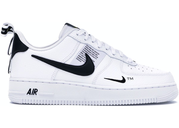 new style 9fd53 36210 Air Force 1 Low Utility White Black