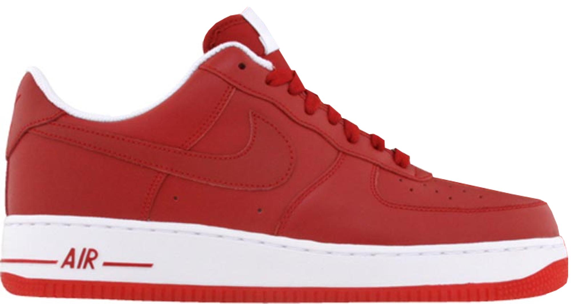 Nike Air Force 1 Low Varsity Red (2010