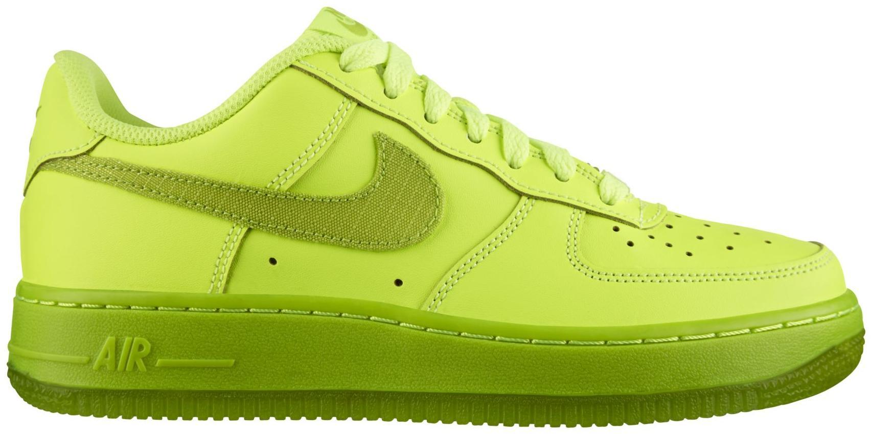 Air Force 1 Low Volt Fierce Green GS