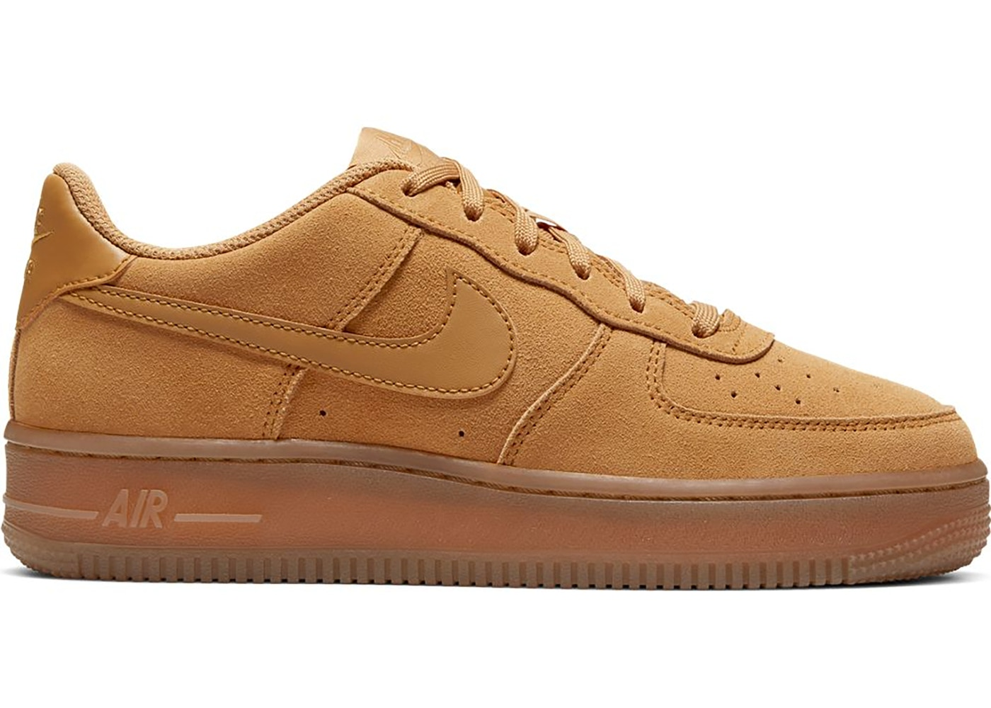 barbería Imperio Inca Falsificación  Nike Air Force 1 Low Wheat 2019 (GS) - BQ5485-700