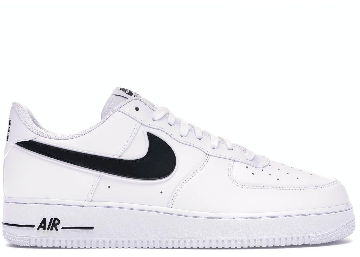 quite nice d2458 4f763 Air Force 1 Low White Black (2018)