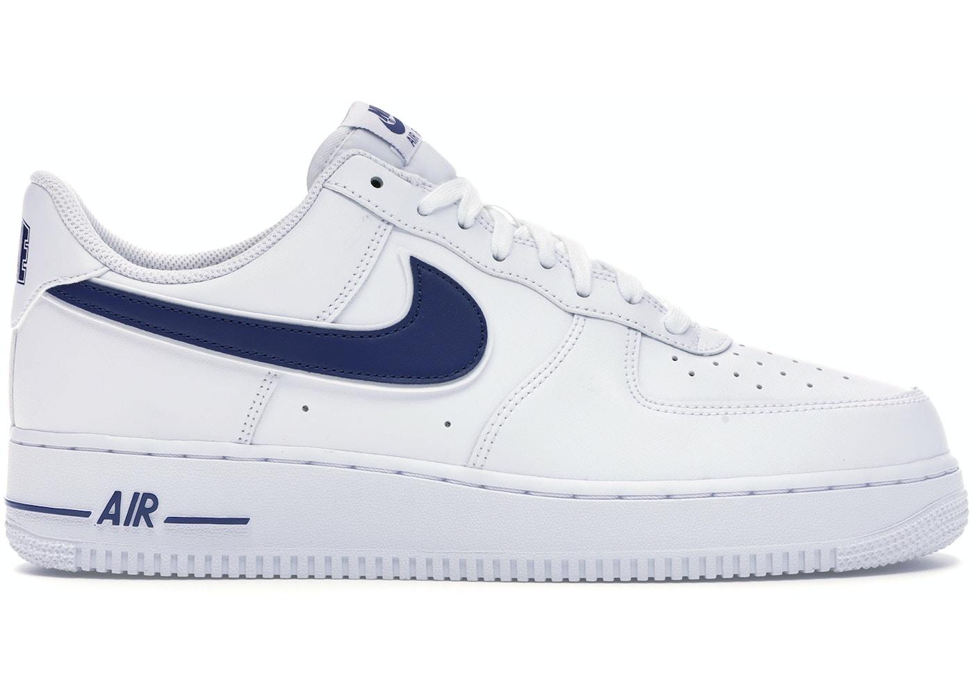 Nike Air Force 1 Low White Deep Royal Ao2423 103