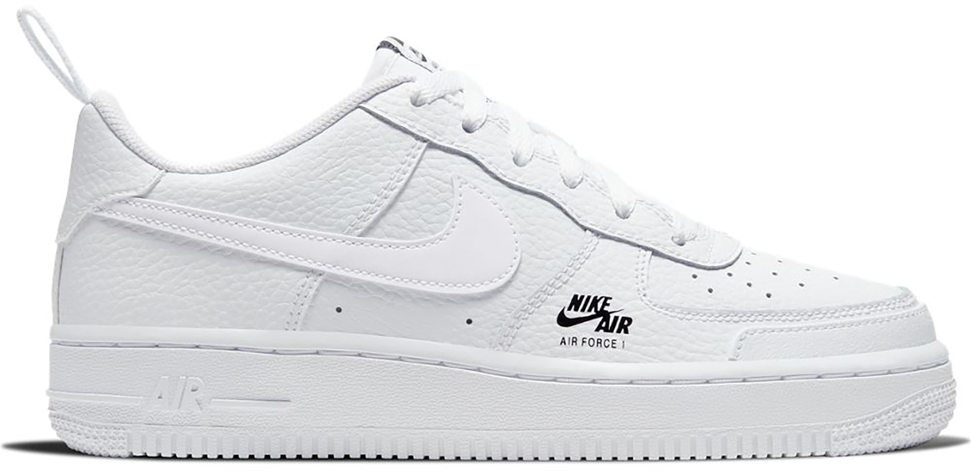 Nike Air Force 1 Low White Grey Fog (GS
