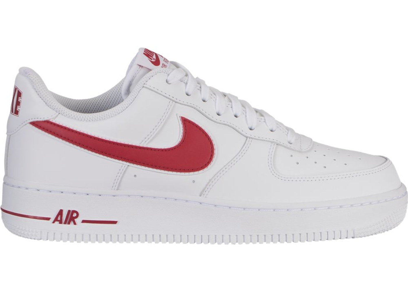 best website 2b5c9 c77bc Air Force 1 Low White Gym Red