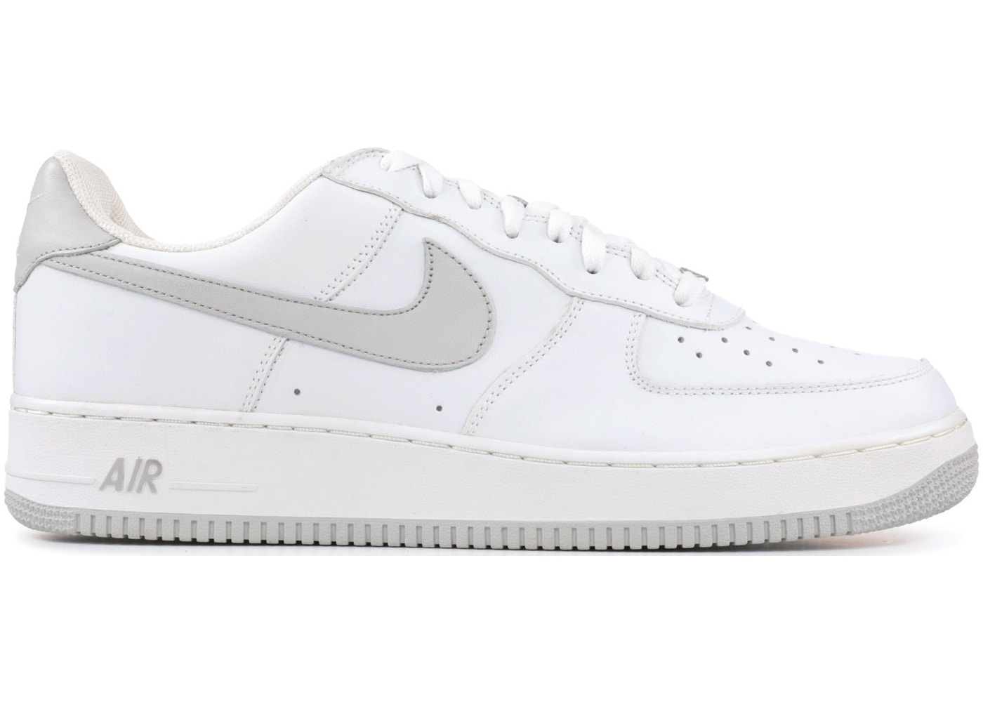 hot sale online f5bd4 e2768 Air Force 1 Low White Neutral Grey (2004) - 306353-101