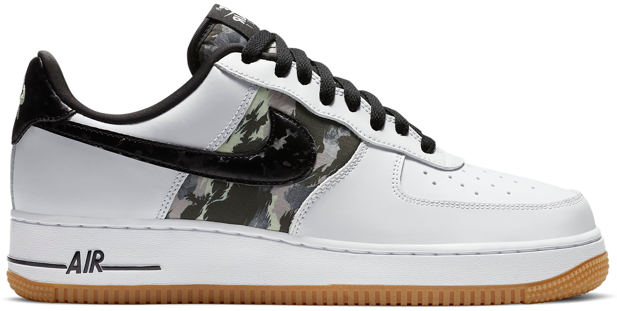Nike Air Force 1 Low White Ripstop Camo