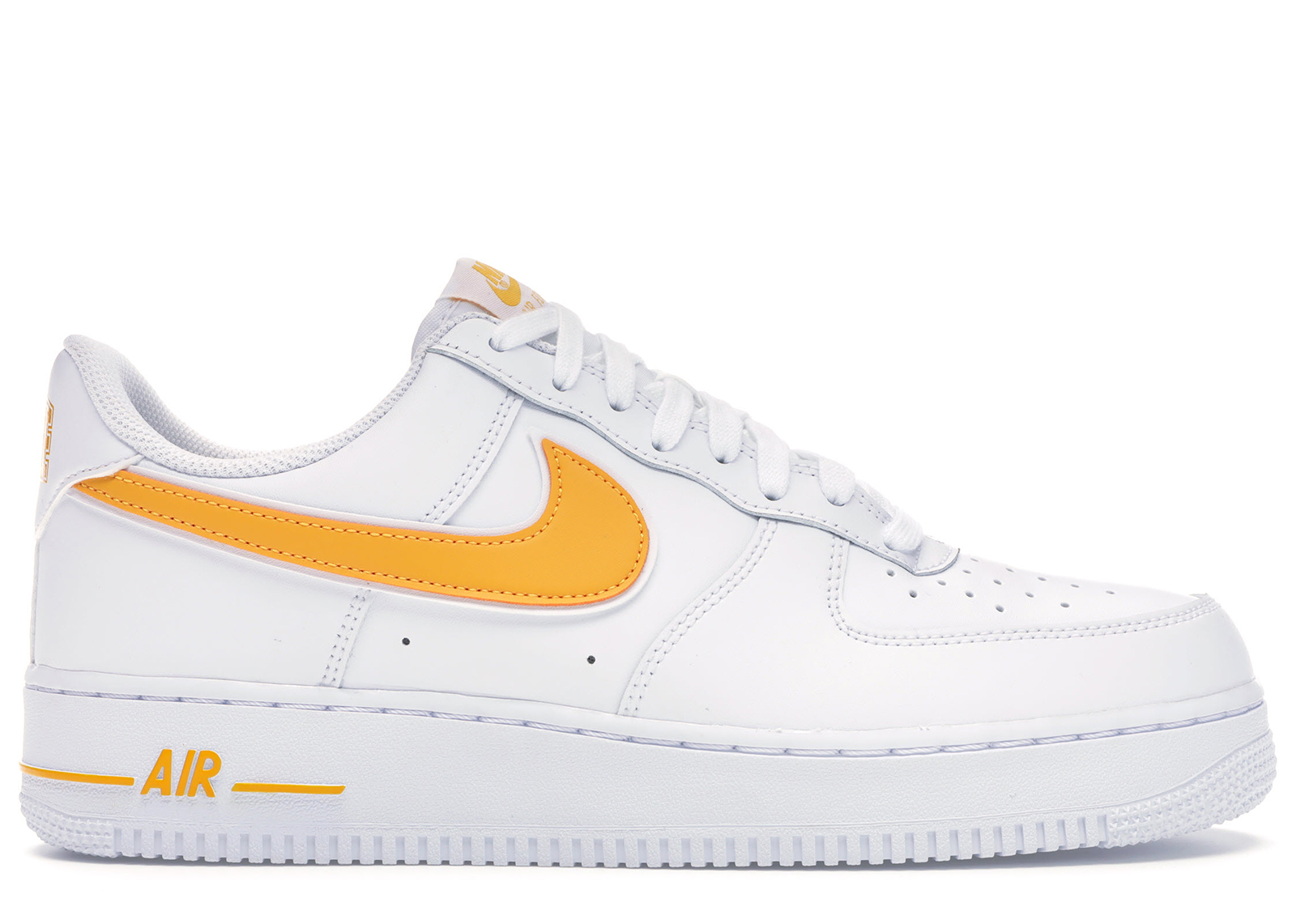 nike air force 1 white yellow