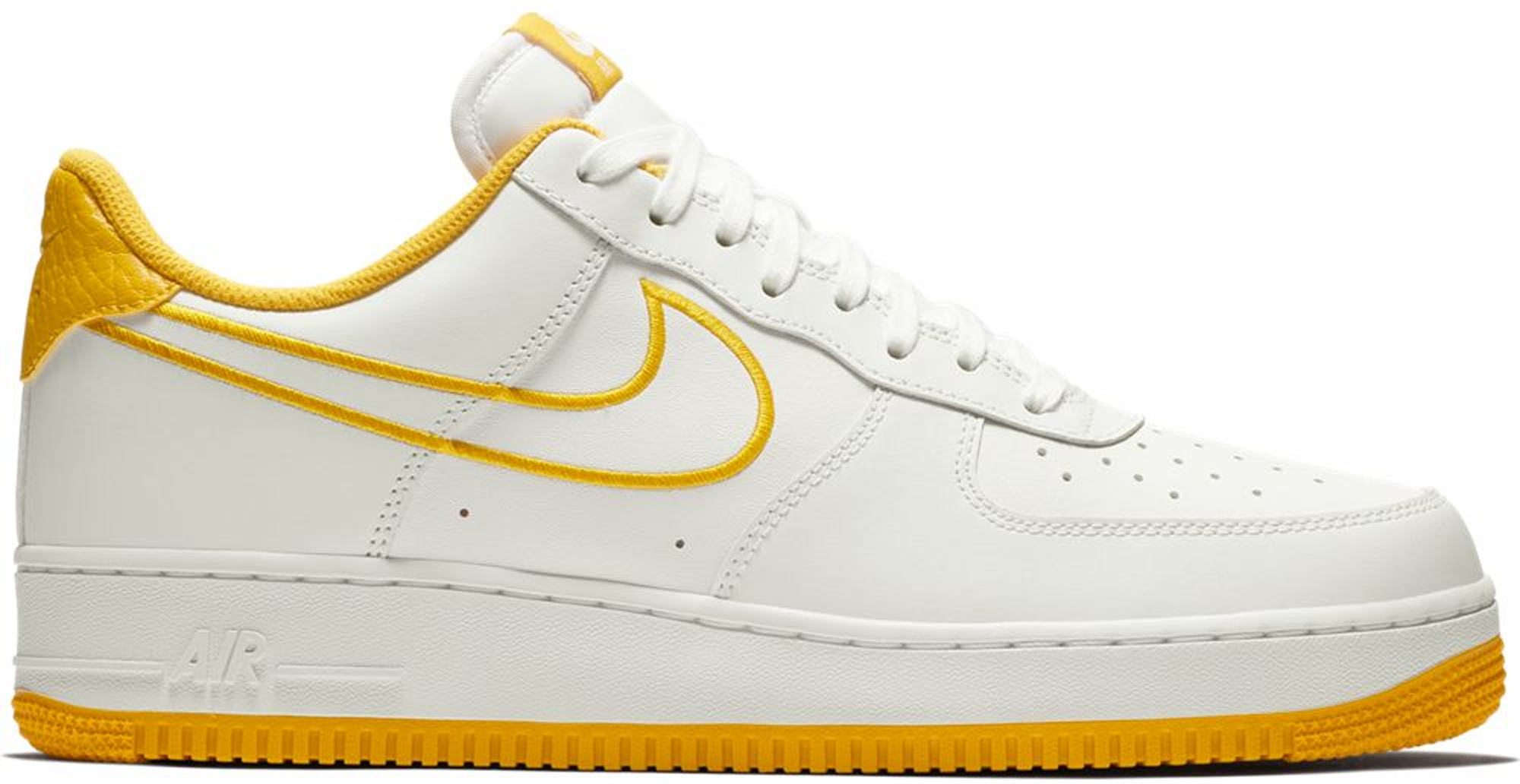 Nike Air Force 1 Low White Yellow Ochre