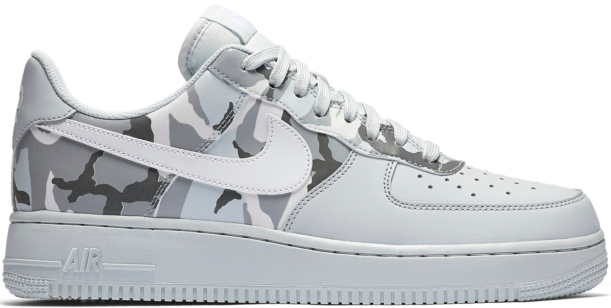 Nike Air Force One De Camouflage Blanc