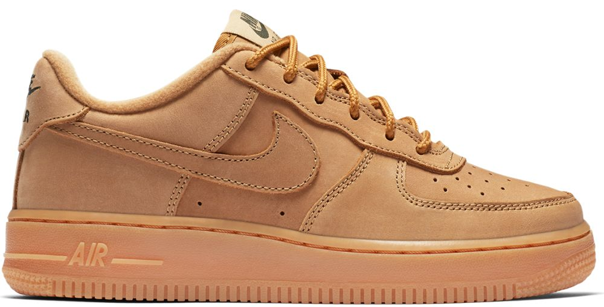 Nike Air Force 1 Low Winter Flax (GS
