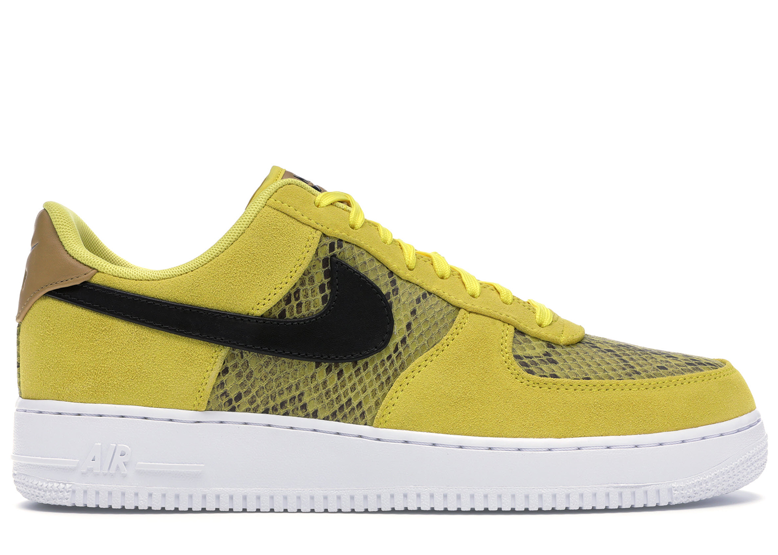 nike air force low yellow
