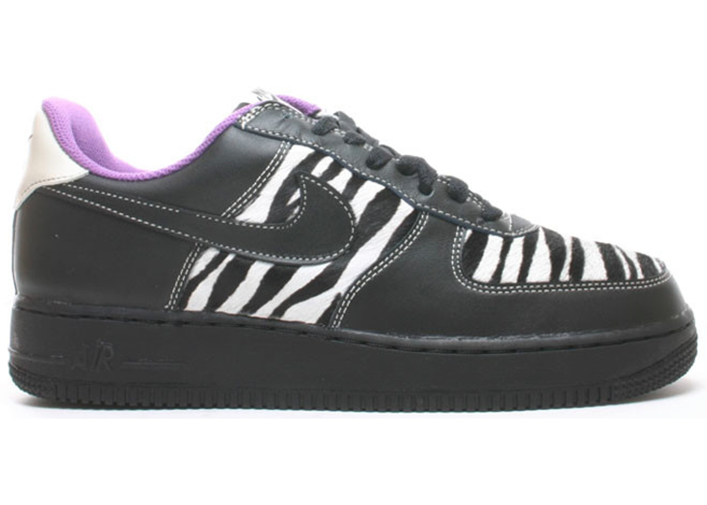 factory outlets cheap prices new product Air Force 1 Low Zebra (GS) - 307109-001