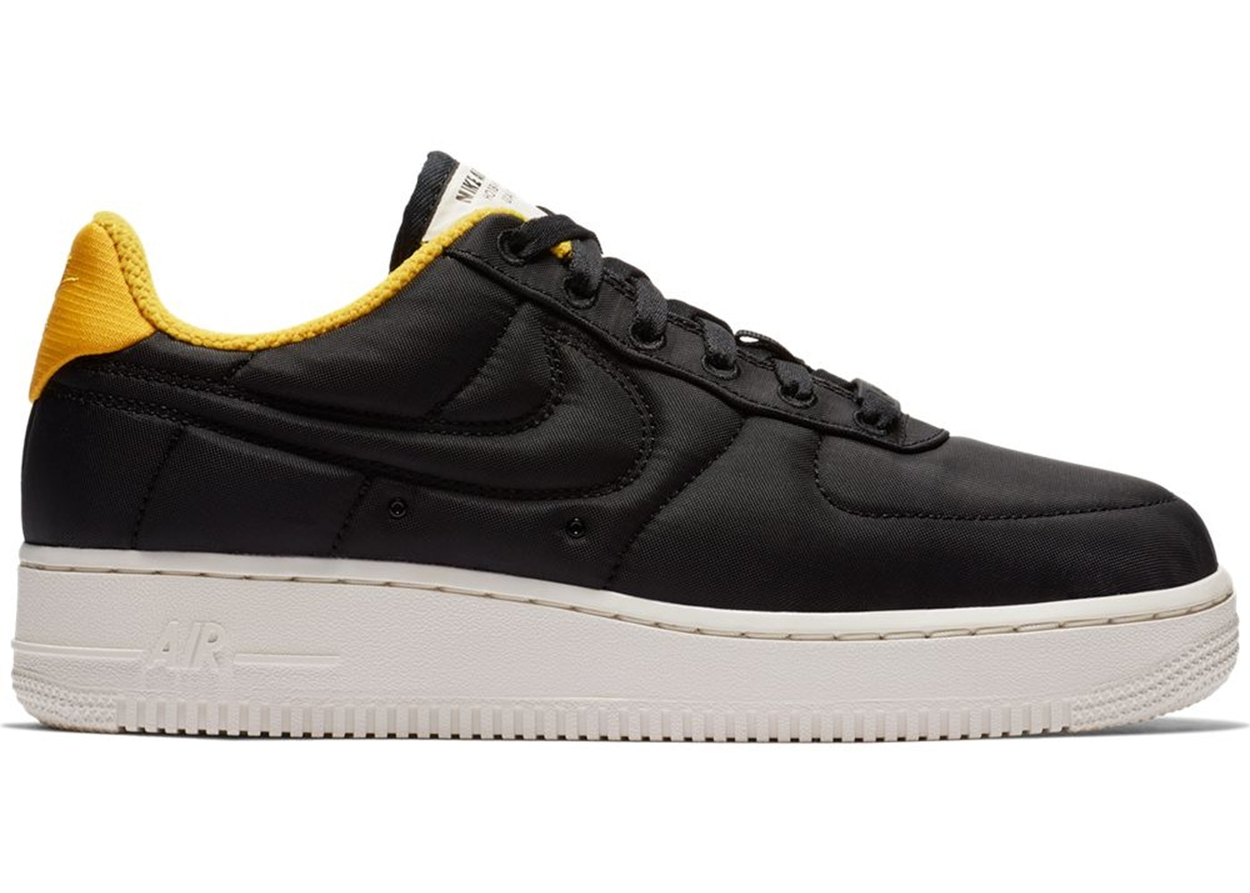 Air Force 1 Lux Black Yellow Ochre (W)