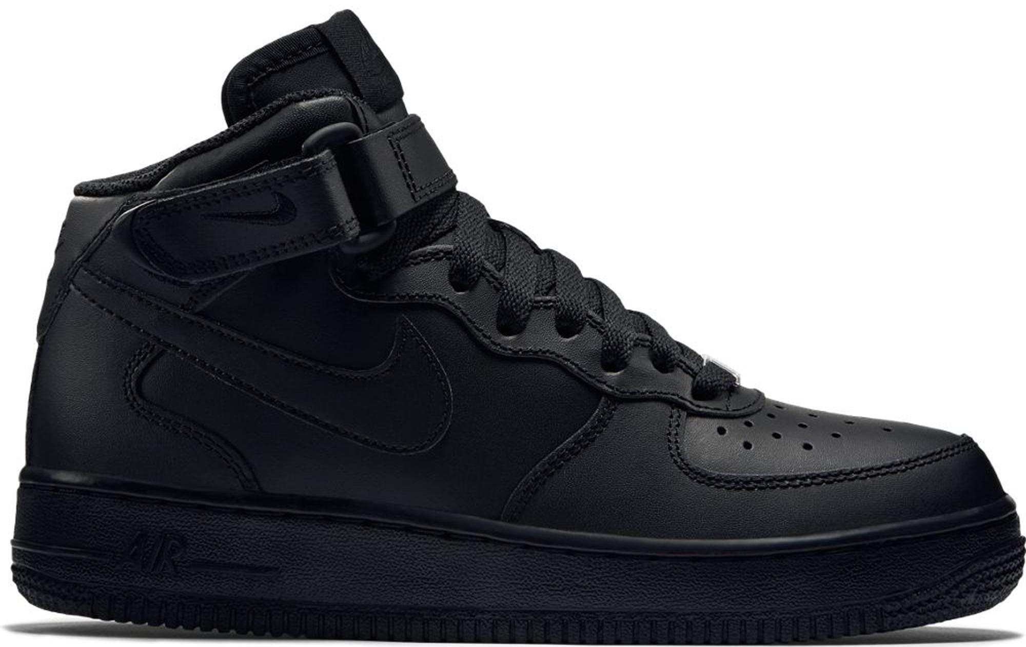 Nike Air Force 1 Mid Black 2014 (GS