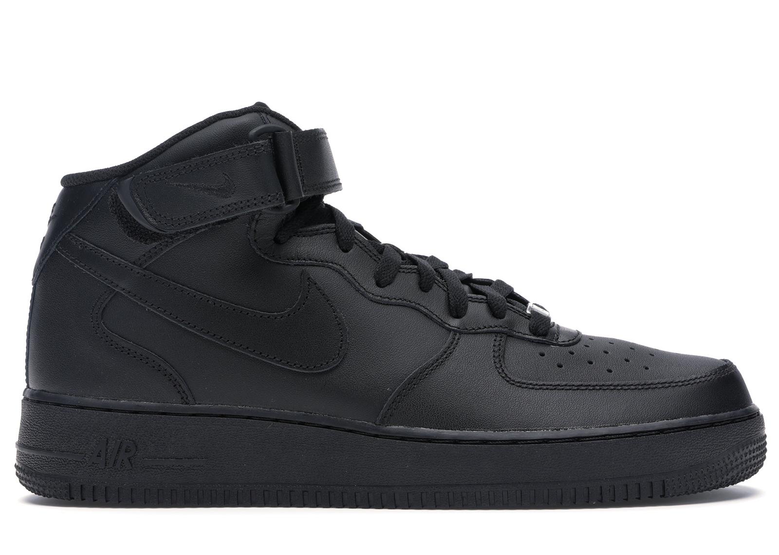 Nike Air Force 1 Mid Black (2016